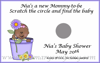 Purple Flowerpot Baby