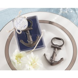 """Anchor"" Nautical-Themed Bottle Opener in Pewter or Gold"