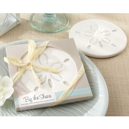 """""""By the Shore"""" Sand Dollar Coaster"""