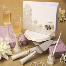 FAIRYTALE DESIGN / CINDERELLA THEMED WEDDING ACCESSORY SET