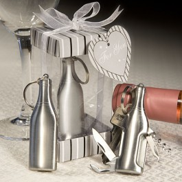 Stainless Steel Bottle Opener/Bar Tool