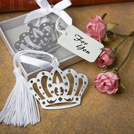 Crown Bookmark Favor