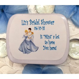Personalized Cinderella Mint Tins (Set of 12)