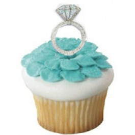 Diamond Ring Party Picks (Package of 12)