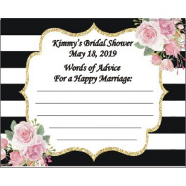 Personalized Kate Spade Advice Cards