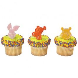Winnie the Pooh & Friends Cupcake Rings Pkg. of 12