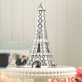 From Paris With Love Eiffel Tower Centerpiece / Cake Topper