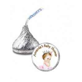 Little Princess Hershey's Kiss Stickers