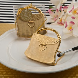 Gold Purse Compact Mirror