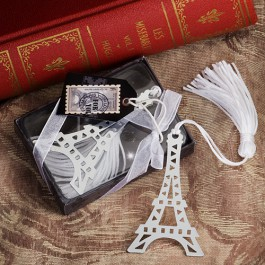 From Paris With Love Collection Eiffel Tower Bookmark Favor