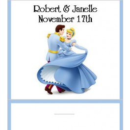 Cinderella Wedding Mint Favor