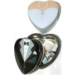 """""""Dressed to the Nines"""" Tuxedo or Gown Mint Tins"""