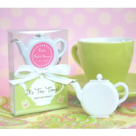 Personalized Teapot Tape Measure Keychain