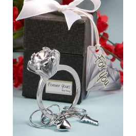 Engagement Ring Key Chain Favors