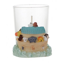 Noah's Ark Theme Candle