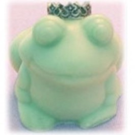 """At Last She Found Her Prince"" Frog Prince Soap Bridal Shower Favor"