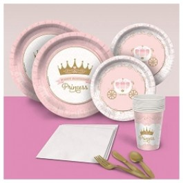 Pink Provincial Princess Basic Party Pack