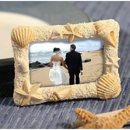 Beach Theme Photo Frame Favors