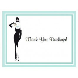 Breakfast at Tiffany's Thank You Cards