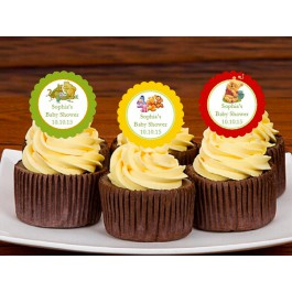 Winnie the Baby Pooh and Friends Cupcake Toppers (set of 10)