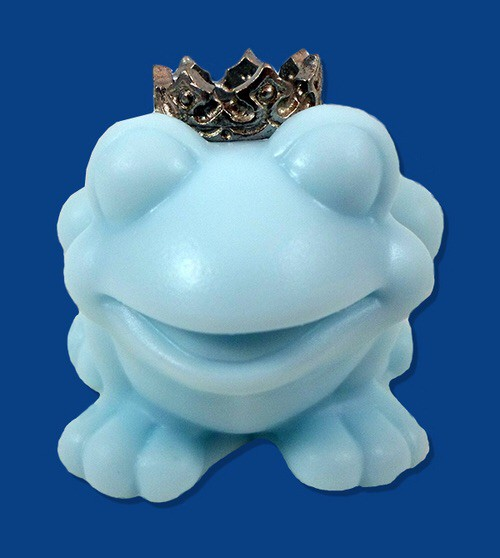At Last She Found Her Prince Frog Prince Soap Bridal Shower Favor