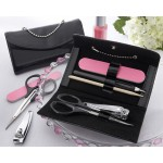 """Little Black Purse"" Five-Piece Manicure Set"