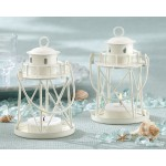 &quot;By the Sea&quot; Lighthouse Tea Light Holder