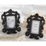 &quot;Black Baroque&quot; Elegant Place Card Holder/Photo Frame