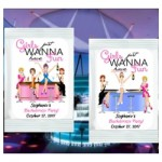 Girls Just Wanna Have Fun Margarita Mix Favors