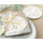 &quot;By the Shore&quot; Sand Dollar Coaster