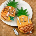 TRENDY PINEAPPLE SHAPED MANICURE CASE