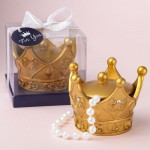 MAKE IT ROYAL GOLD CROWN TRINKET BOX WITH COVER