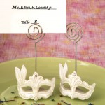MARDI GRAS MASKED THEME PLACECARD HOLDER
