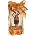 Autumn Leaf Wine Bottle Stopper