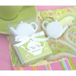 Teapot Tape Measure Keychain