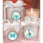 Personalized Breakfast At Tiffany Bridal Shower Candle