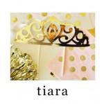 Gold Tiara Cake Topper