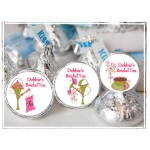 Personalized Bridal Tea Party Hershey Kisses Labels - Bridal Shower Favor - sheet of 105
