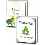 Frog Prince Bridal Shower Thank You Cards (Pkg.of 10)