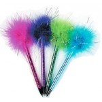 Shimmering Marabou Pens 