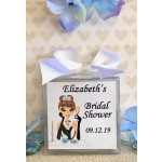 Personalized Breakfast at Tiffany's Candle (Caucasian or African American)