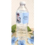 Personalized Breakfast at Tiffany's Water Bottle Labels (Caucasian or African American)