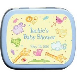 Noah's Babies Baby Shower Mint Tin Favors