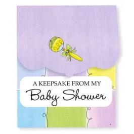 Baby Shower Keepsake Registry (Pastels)