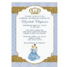Personalized Cinderella Invitation