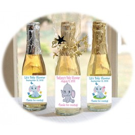 Little Peanut Personalized Mini Bottles Pink or Blue (Choice of Filling)