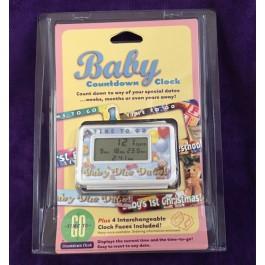 Pregnancy Countdown Clock