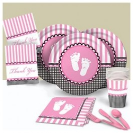 Sweet Baby Pink Basic Party Pack