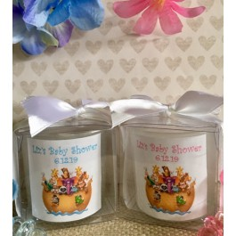 Personalized Noah's Ark Candle (3 Colors)