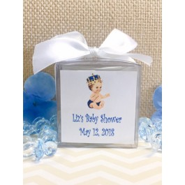 Personalized Vintage Little Prince Candles Caucasian or African American